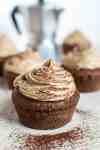 Gluten free cocoa coffee cupcakes vegan cream frosting