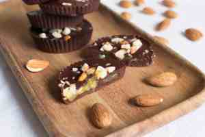 Orange Jam Chocolate cups