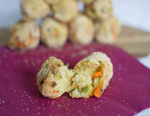 Homemade easy gluten dairy free croquettes