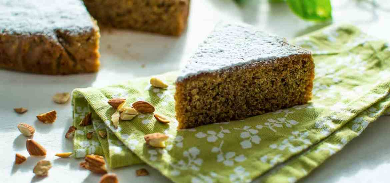 Gluten free almond coffee cake