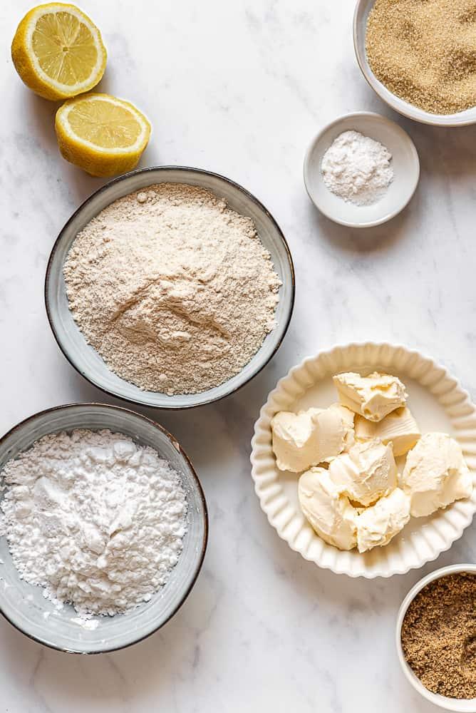 Ingredienti pasta frolla senza glutine senza uova con margarina solo farine naturali