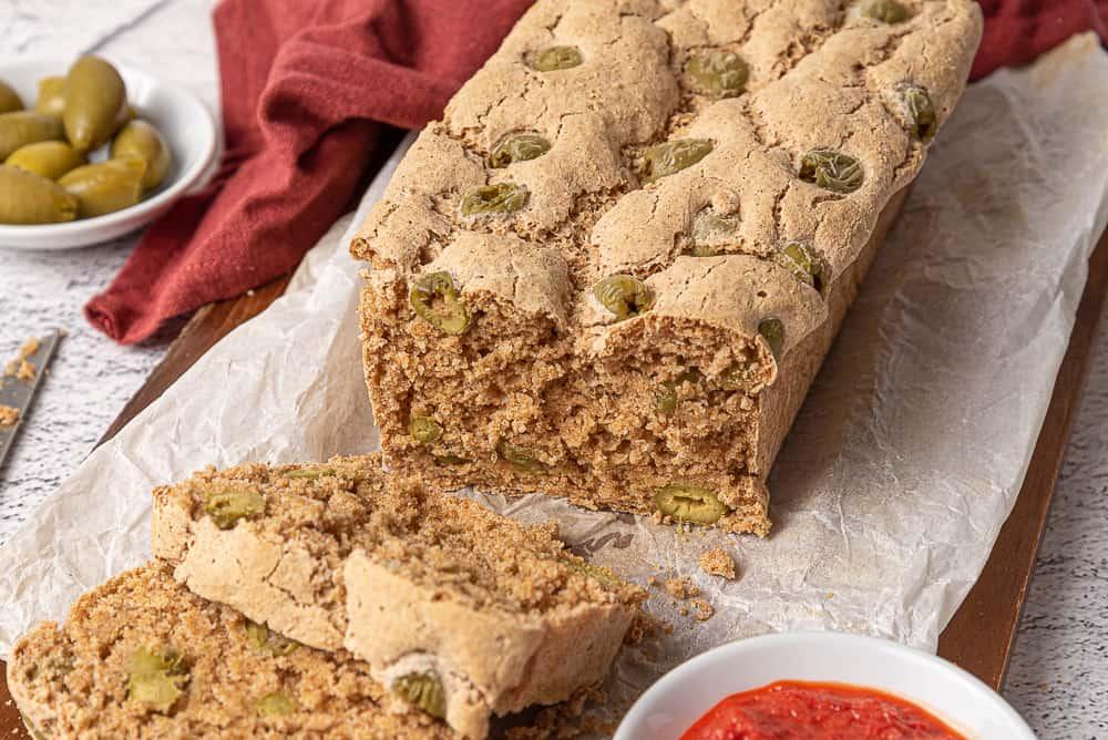 pane di miglio senza glutine fatto in casa