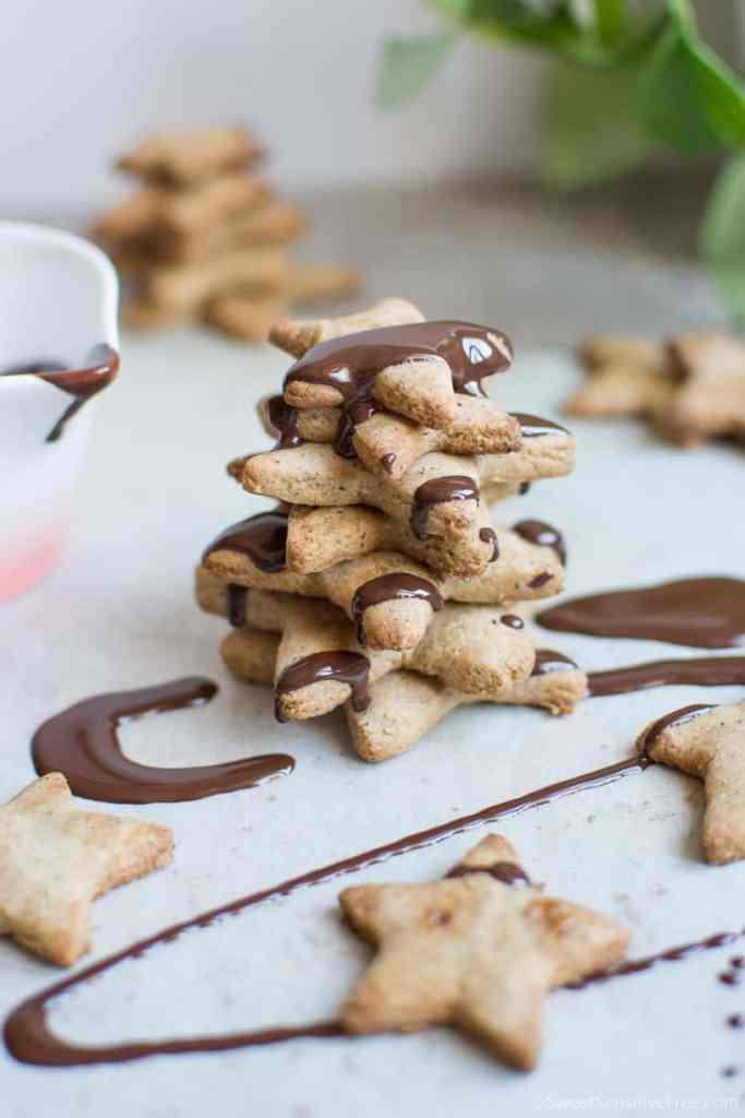 Quick glutenfree vegan gingerbread Christmas gift