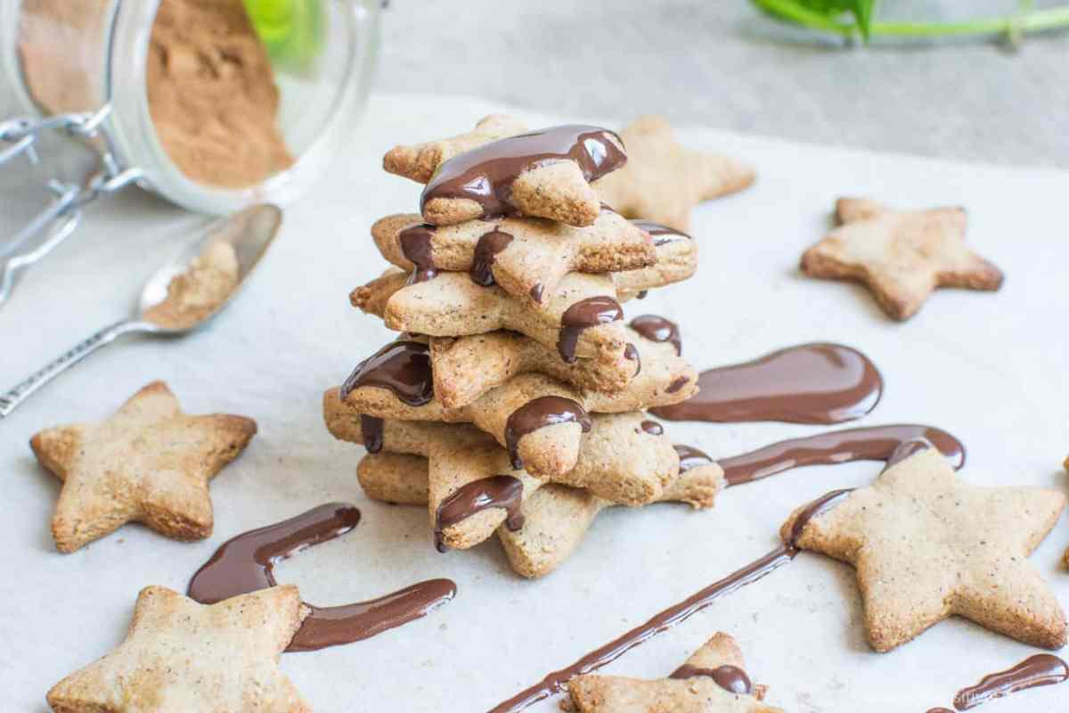 Biscottini Pan di Zenzero | Senza glutine (farine naturali) * Vegan