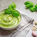 Recipe for vegan basil pesto dairy free soy free