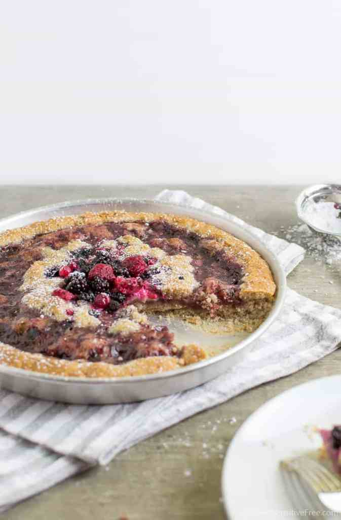 vegan gluten free oil tart crust with almond flour rice flour without vegan butter and eggs