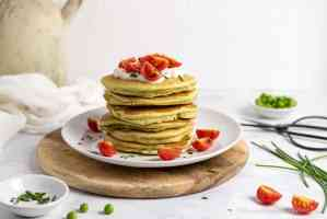 Savory protein pancakes without gluten eggs butter