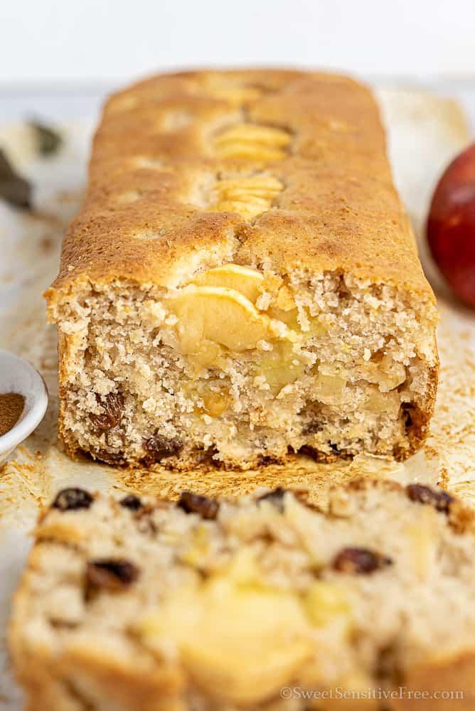 Torta di mele senza glutine vegan