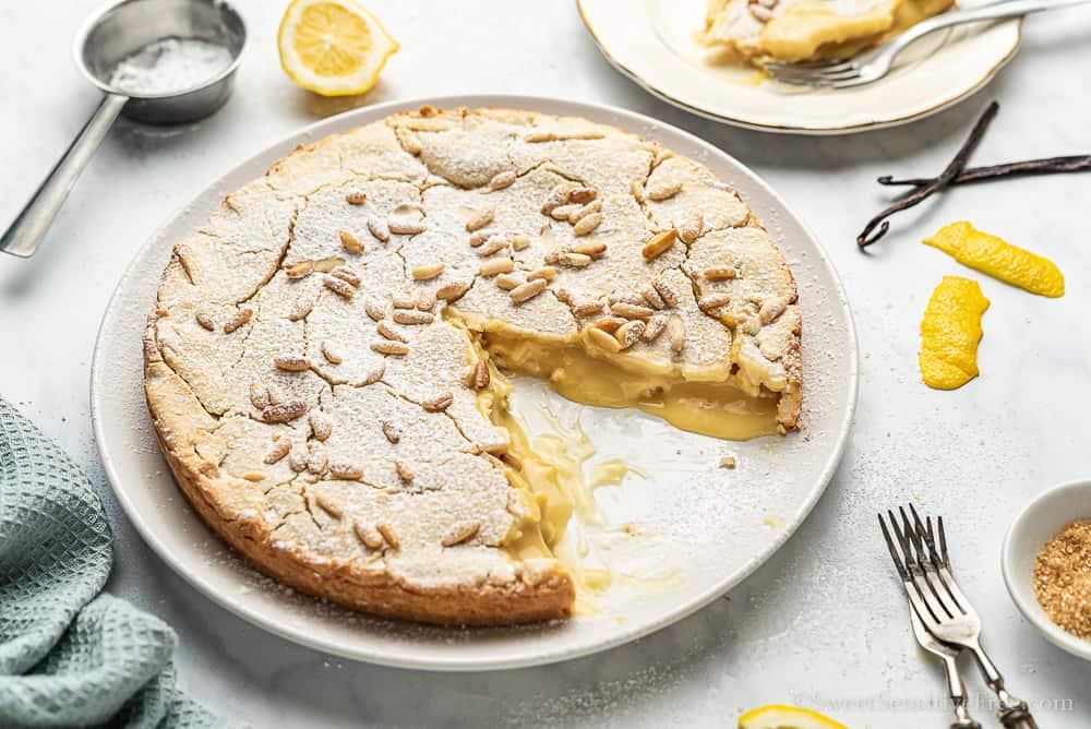 ricetta torta della nonna senza glutine e lattosio