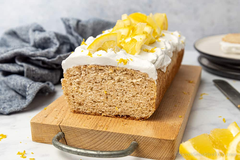plumcake al limone senza glutine morbido