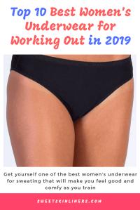 The best women's underwear for sweating,