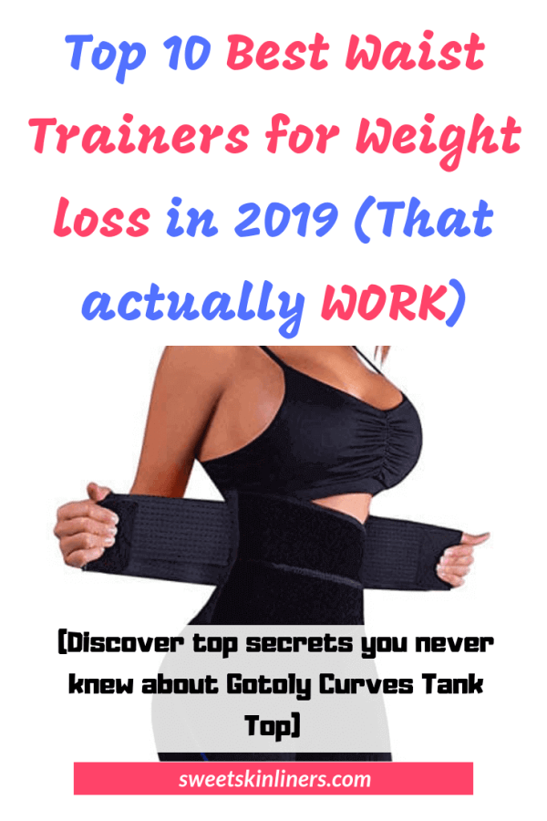 A review of the best waist trainers for weight loss