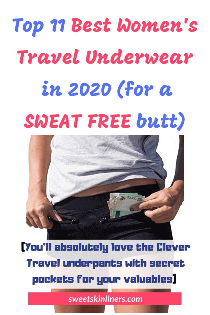 A review of the best travel underwear womens