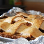 Apple Pie with a Lemon Zested Crust