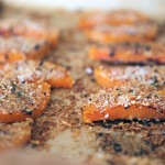 Roasted Crusted Squash