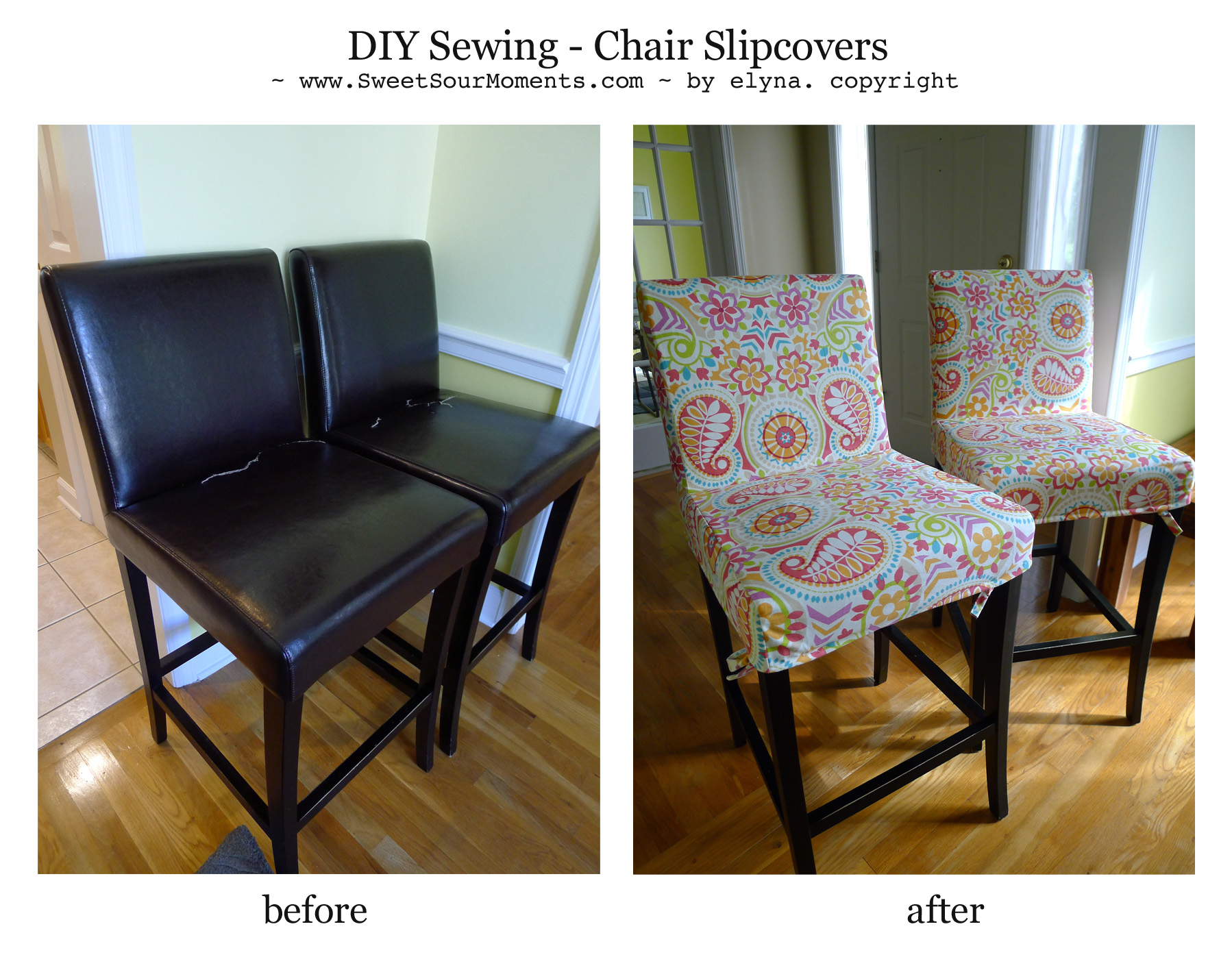 armchair cover diy wheelchair airport sewing chair slipcovers sweetsourmoments