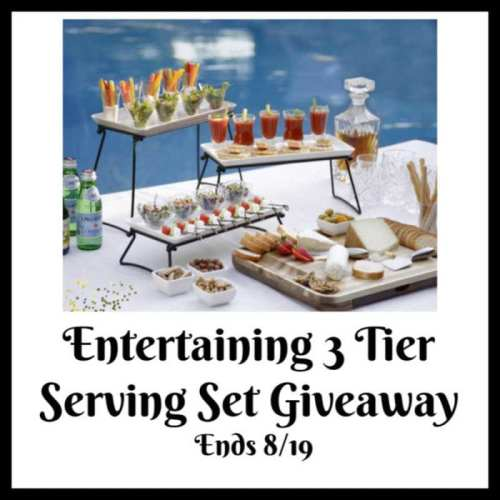 Enter this #BTS #SMGN Gift Guide #Giveaway before it ends 8/19 for a chance to #WIN a Three Tier Serving Set. #Contest #BackToSchool