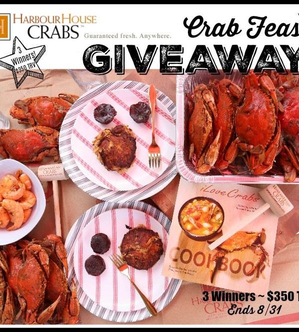 Three will #WIN Delicious Prizes from Harbour House Crabs when this #BTS Gift Guide #Giveaway ends 8/31. #HHCrabs #Seafood #Contest #BackToSchool