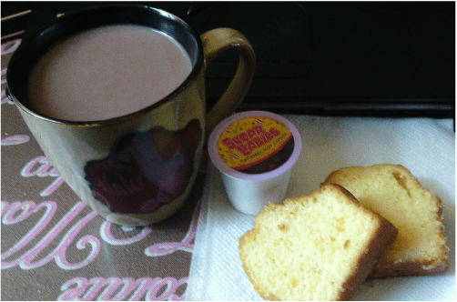 Sugar Babies Hot Cocoa and Pound Cake