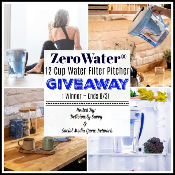 Enter and you could #WIN a ZeroWater 12 cup Water Filter Pitcher when this #BTS Gift Guide #Giveaway ends 8/31. #Contest #BackToSchool