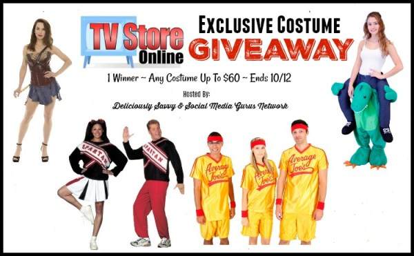 Enter and you could #WIN any costume worth up to $60 from TV Store Online when this #SMGN Gift Guide #Giveaway ends 10/12