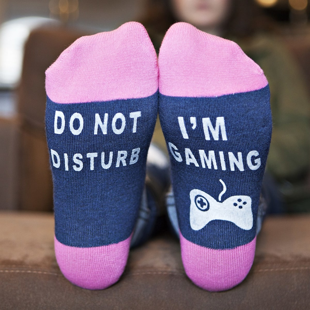 Do Not Disturb Gaming Socks