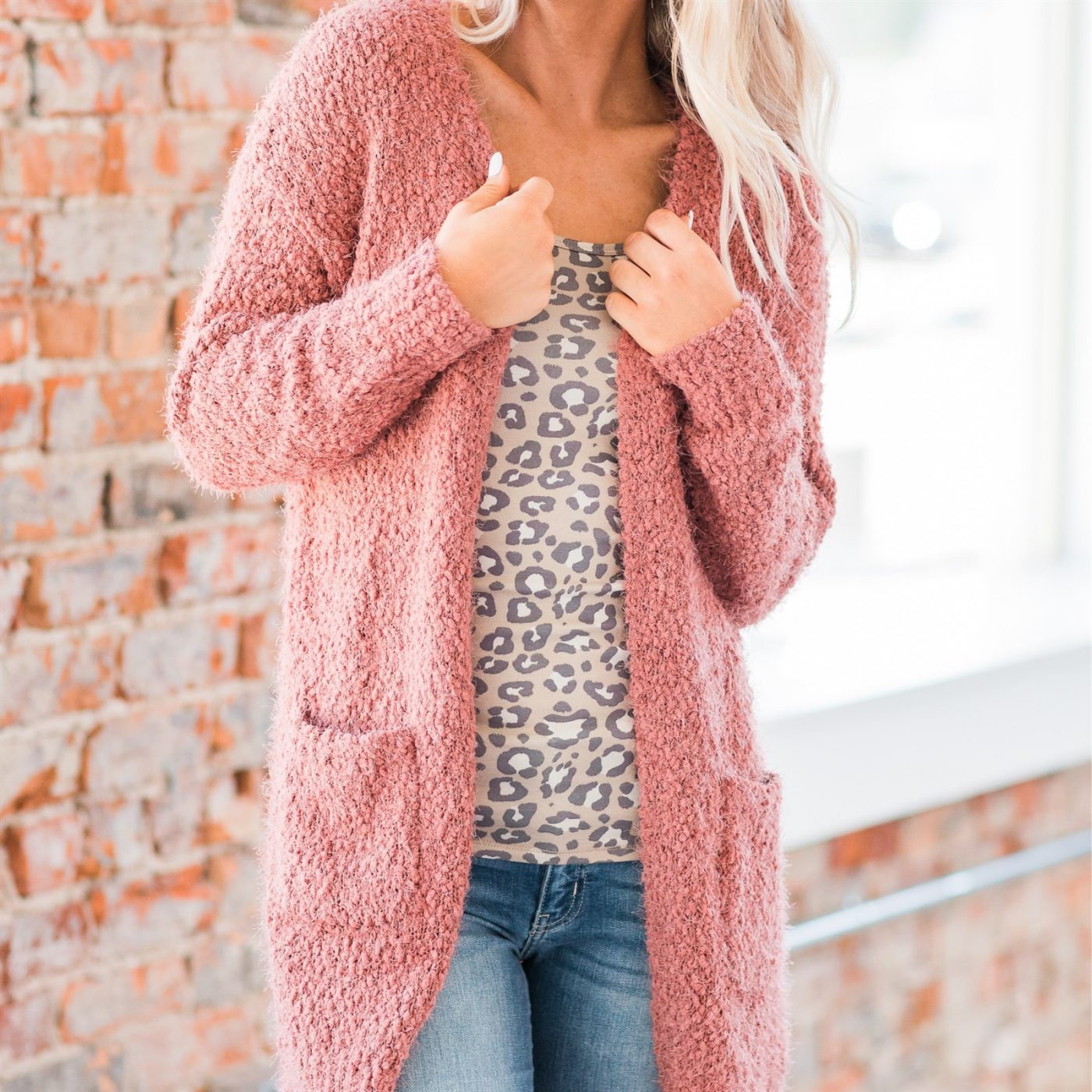 Was $59.99 - Now $28.99 - Lara Luxe Popcorn Cardigan | Free Shipping (10/16 to 10/18)