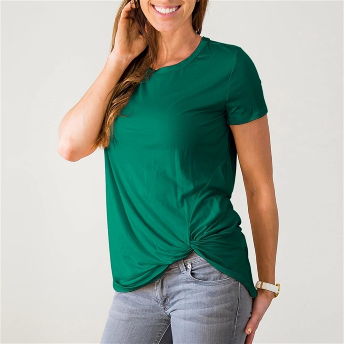Was $39.99 - Now $19.99 - Twist Front Top   Free Shipping (10/16 to 10/18)