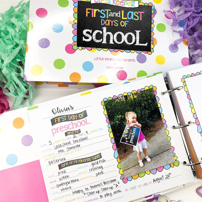 Was $49.95 - Now $34.95 - School Days Memory Book   Class Keeper   Free Shipping (10/12 to 10/14)