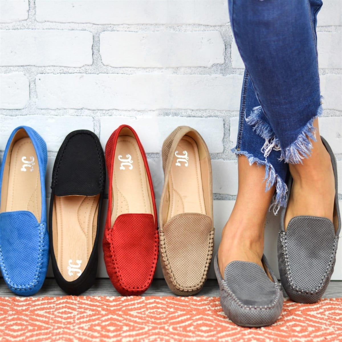 Must-Have Comfort Sole Loafers   Free Shipping