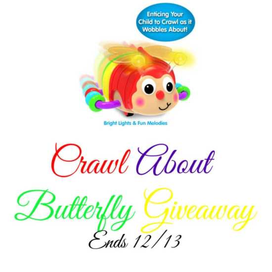 🎄 Enter and you could #WIN a Crawl About Butterfly for your little one when this #SMGN Holiday Gift 🎁 Guide #Giveaway ends 12/13. @SMGurusNetwork @las930 @LearningJourney
