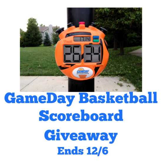 🎄 Enter and you could #WIN a GameDay Basketball Scoreboard when this #SMGN Holiday Gift 🎁 Guide #Giveaway ends 12/6. @SMGurusNetwork @las930