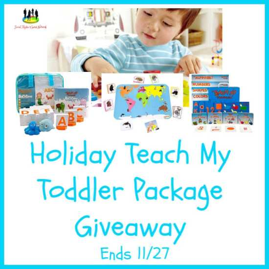 🎄 Enter and you could #WIN a Teach My Toddler Package for your little one when this #SMGN Holiday Gift 🎁 Guide #Giveaway ends 11/25. @SMGurusNetwork @las930 @Teachmy
