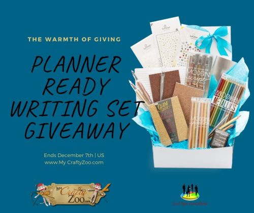 🎄 Enter and you could #WIN a Planner Ready Writing Set when this #SMGN Holiday Gift 🎁 Guide #Giveaway ends 12/7. @SMGurusNetwork #HGG19 #addhappy @weareooly @CraftyZoo