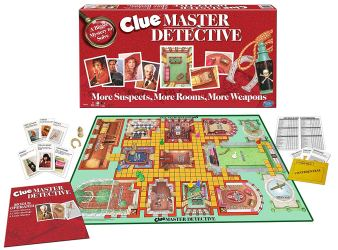 Winning Moves Clue Master Detective Board Game