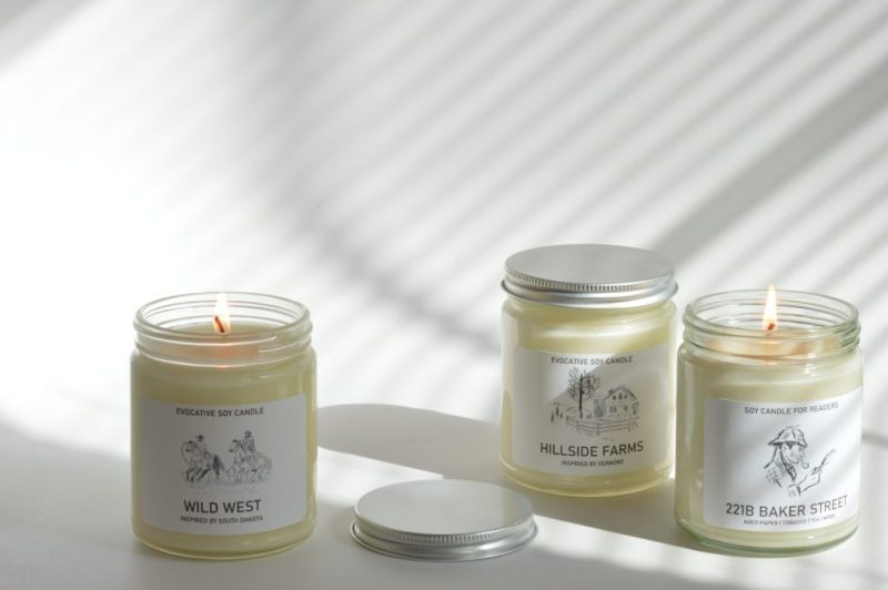 Enter to Win Evocative Candle from Chi Candle