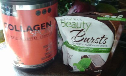 NeoCell Sport Ultimate Recovery Health 3 lb Chocolate and Beauty from Within Chocolate Mint