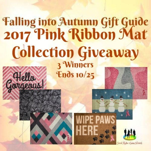 Pink Ribbon Mat Collection Giveaway