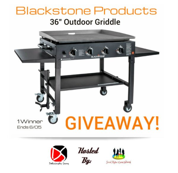 """Blackstone Products 36"""" Outdoor Griddle Giveaway! Ends 6/05 @GrillBlackstone @SMGurusNetwork"""