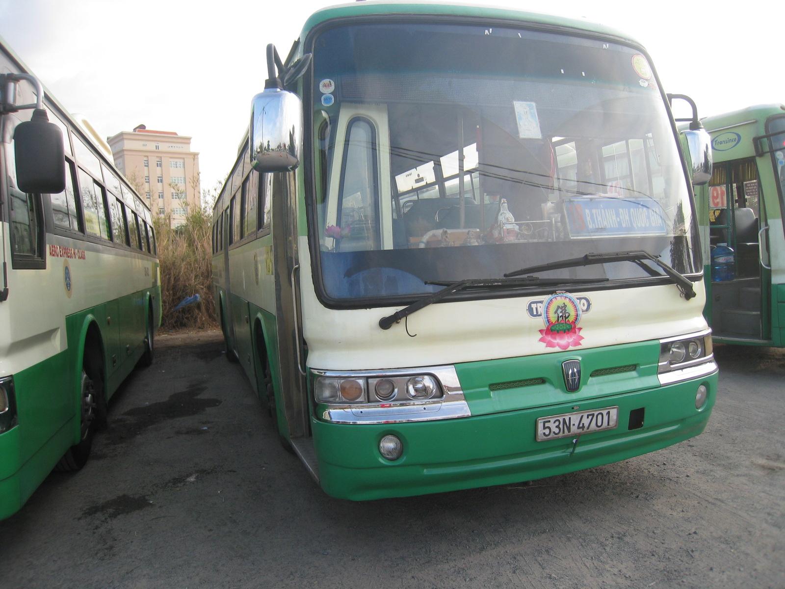 ホーチミンの公共バス