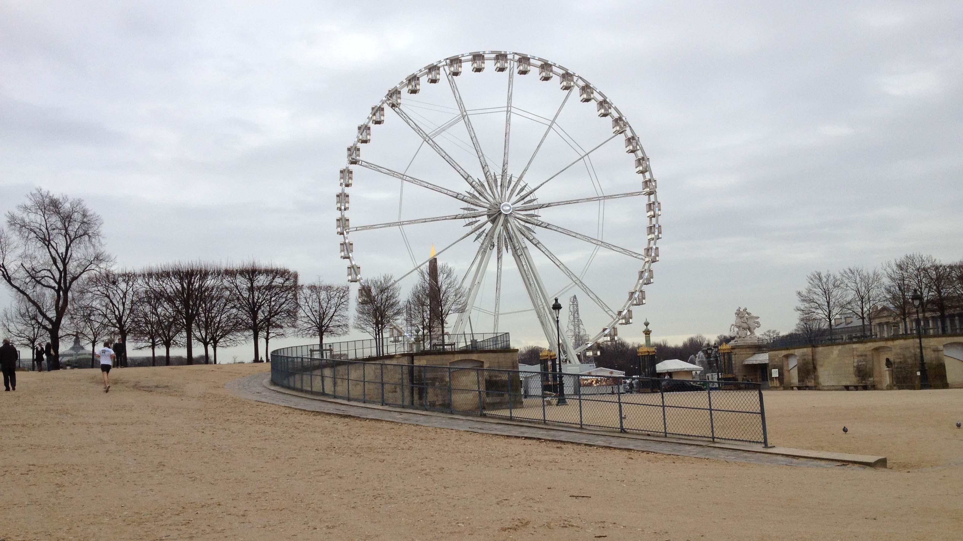 パリの観覧車