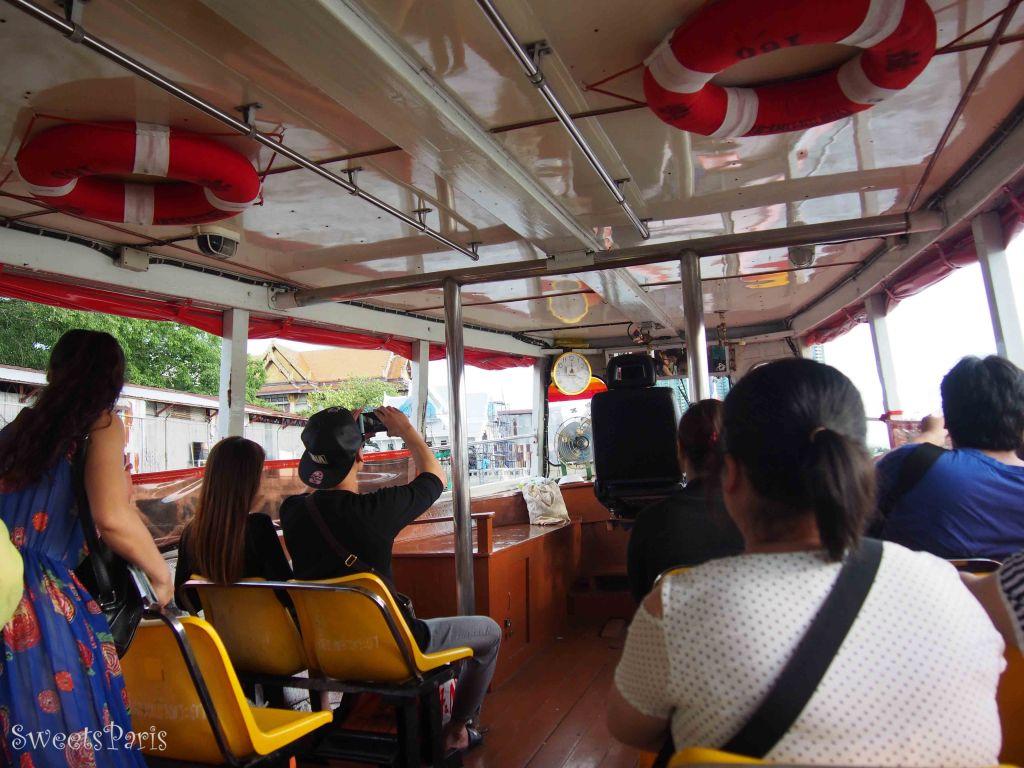 バンコク旅行 船