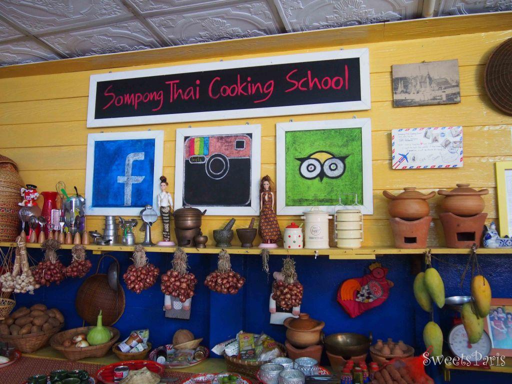 タイ・バンコクの料理教室