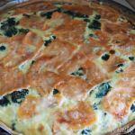 サーモンとほうれん草のキッシュのレシピ recette quiche