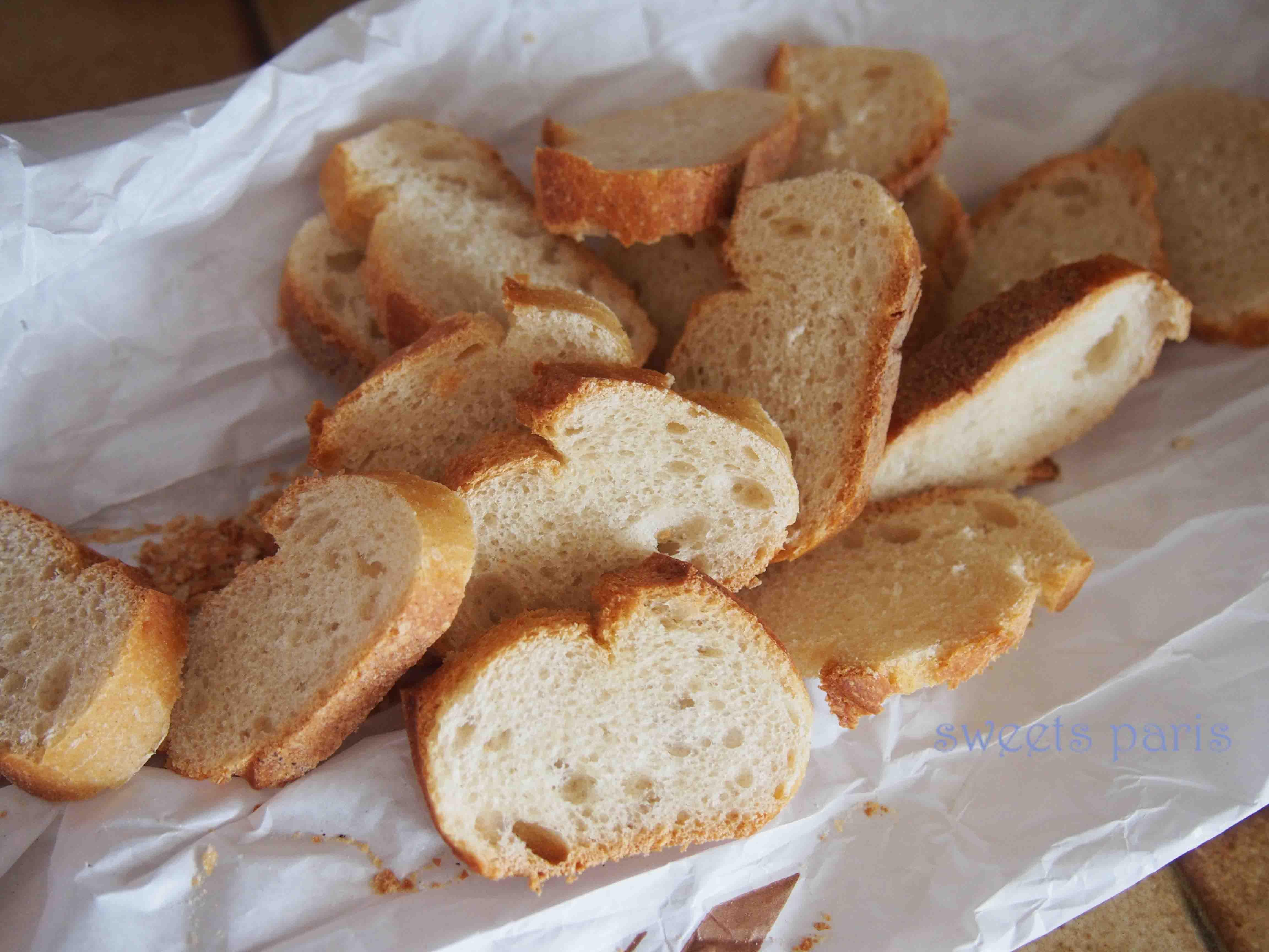 ラスクの作りかた*パンが乾燥したら