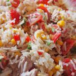 フランス家庭料理、想像以上においしい米のサラダの作りかた