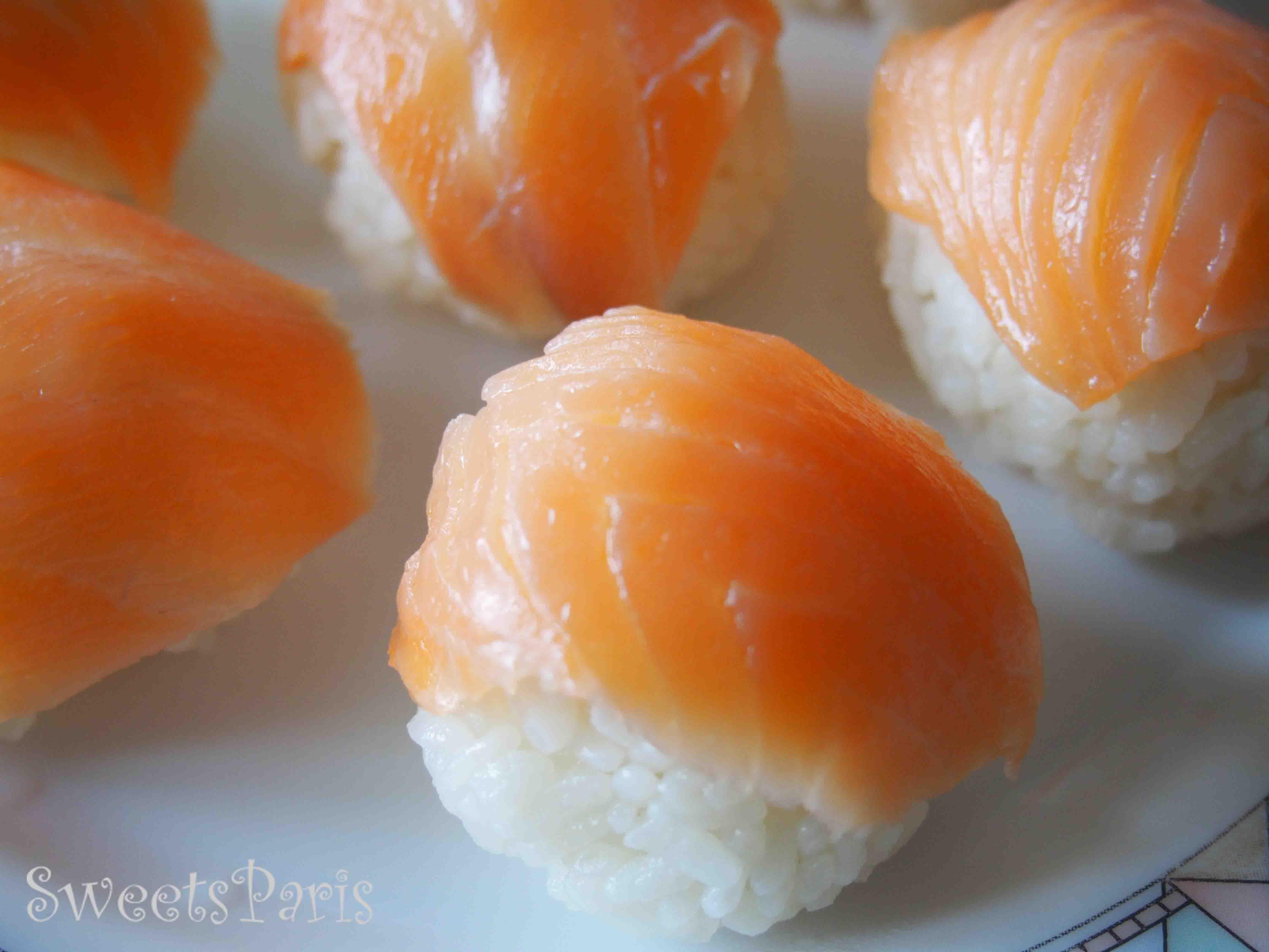 フランスで作る寿司の作りかた