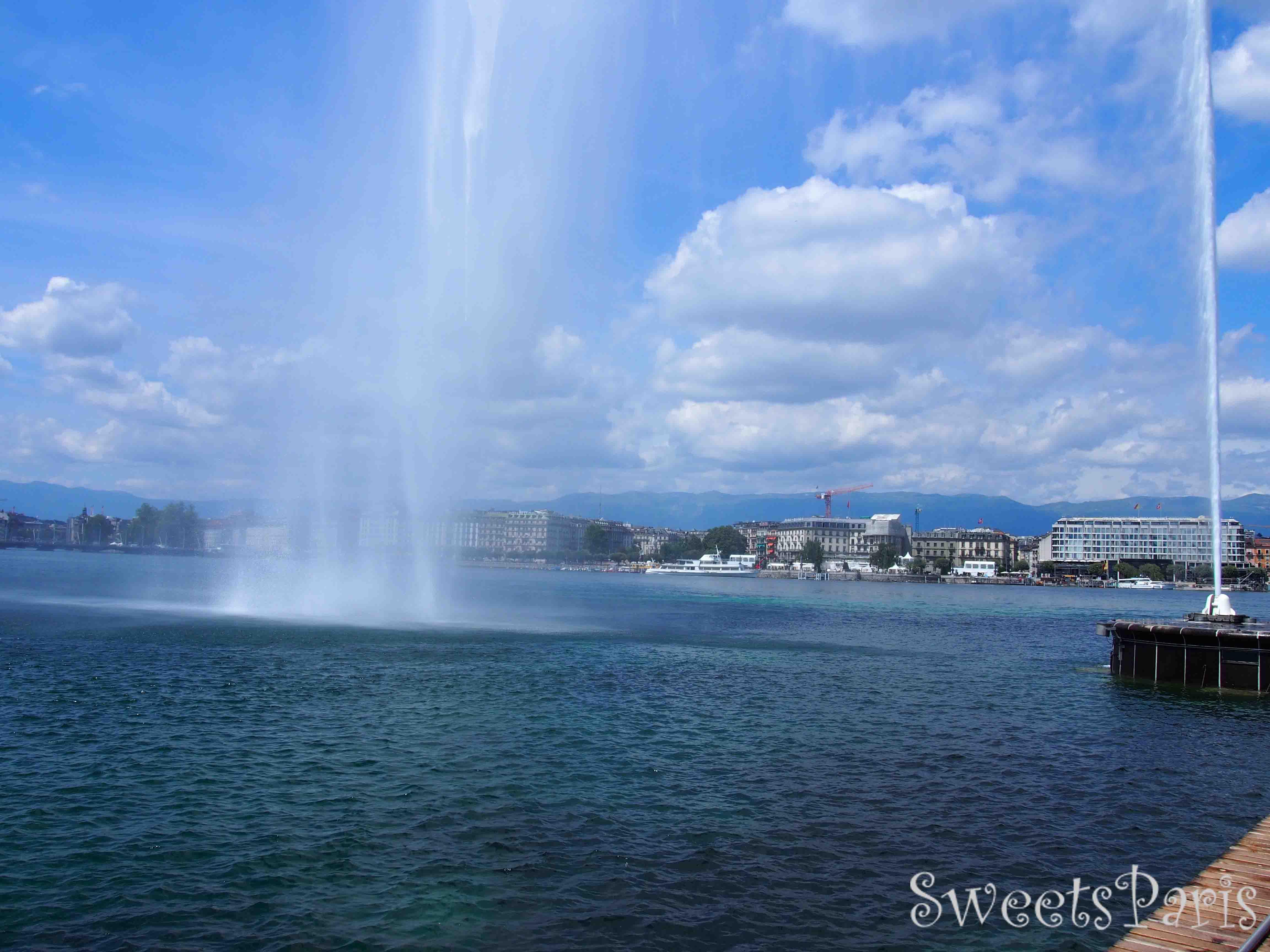 フランスからスイス・ジュネーブへの旅行