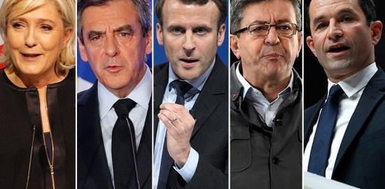 フランス大統領選挙2017|第1回目投票までの各候補者の動向をまとめてみました。