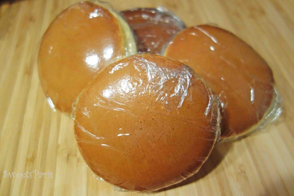 フランスにある材料でつくる和菓子どら焼きの作りかた